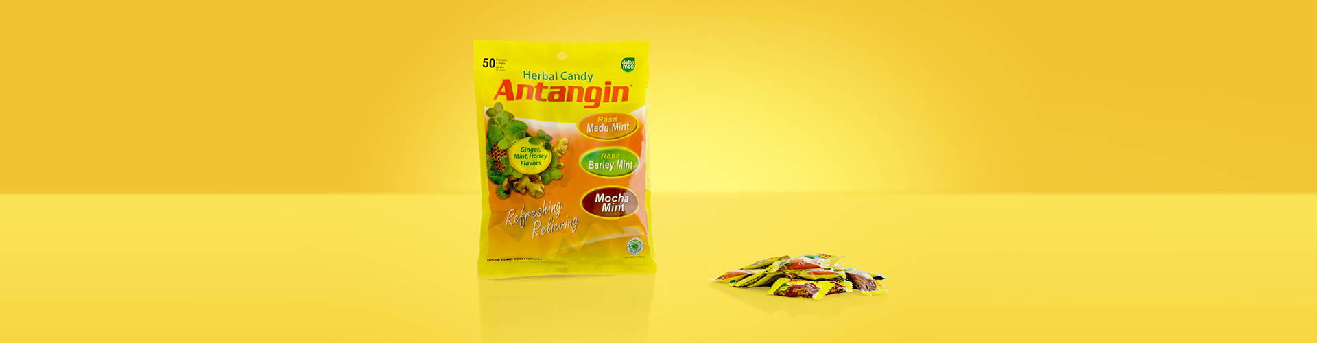 Antangin Herbal Candy