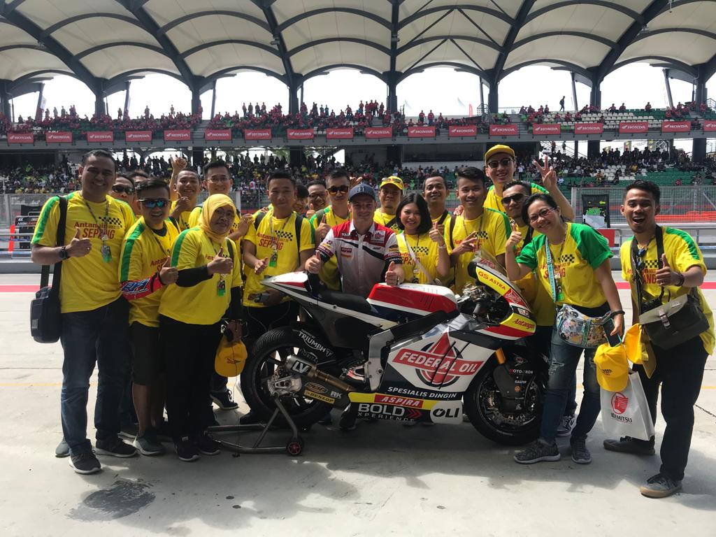 Antangin Goes to Sepang 2019